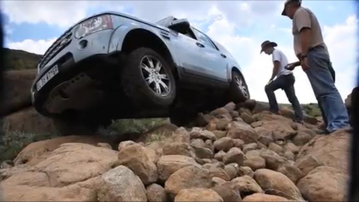 Discovery 4 no trilho mais duro do Sul de África