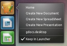 Unity Google Docs Launcher