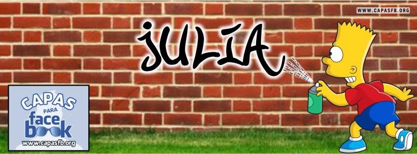 Capas para Facebook Julia