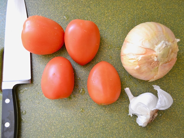 tomato onion