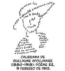 Lapicero m gico caligramas for Tecnicas vanguardistas