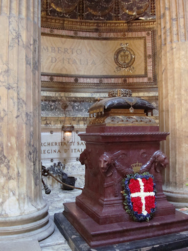 Umberto király római pantheonja, Giuseppe Sacconi (1854-1905) munkája