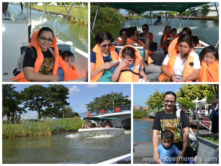 Nuvali- Boating with my son's teachers, classmates, and my co-parents