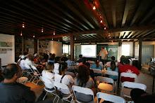 Feria de voluntrarios en las facilidades de La Hacienda La Esperanza.