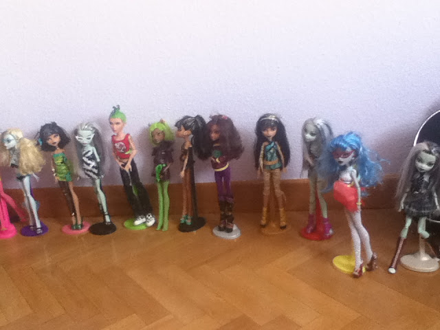 SANDRAHIGH: algunas de sus Monster High