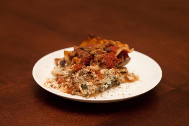 Spinach Lasagna - 2