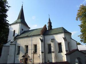 Kościół parafialny pw. Wszystkich Świętych w Bobowej