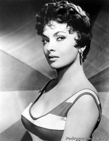 Джина Лоллобриджида. 12 самых красивых и сексуальных актрис 20 века.