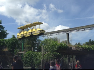 the monorail at Chessington