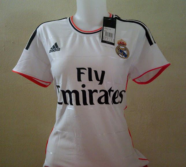 Jual Jersey Wanita Real Madrid Home 2014