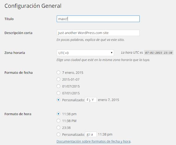 Cómo configurar tu blog: principales opciones