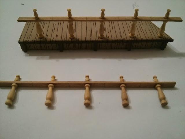 valla sobre la pasarela