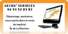GECKO' SERVICES - Dépannage informatique Île de La Réunion 974
