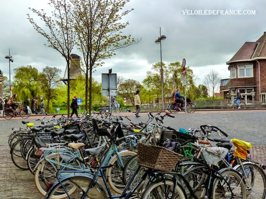 Les vélos de Leiden - e-guide balade à vélo autour de Leiden (Pays-Bas) par veloiledefrance.com