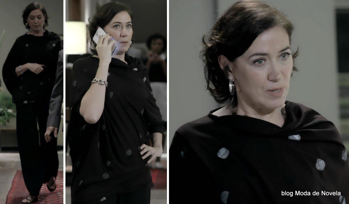 moda da novela Império - look da Maria Marta dia 8 de agosto
