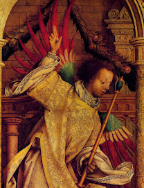 HOLBEIN Hans the Elder (c.1460 -1524) Angel of the Annunciation