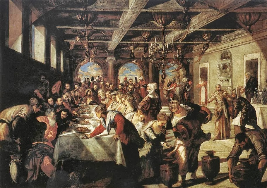 Tintoretto - Marriage at Cana