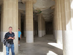 In the columns room