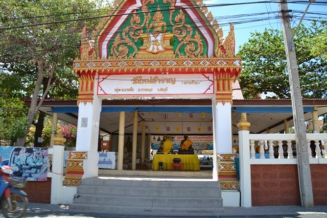 ナーバーン埠頭 - 近くにあったお寺(2)