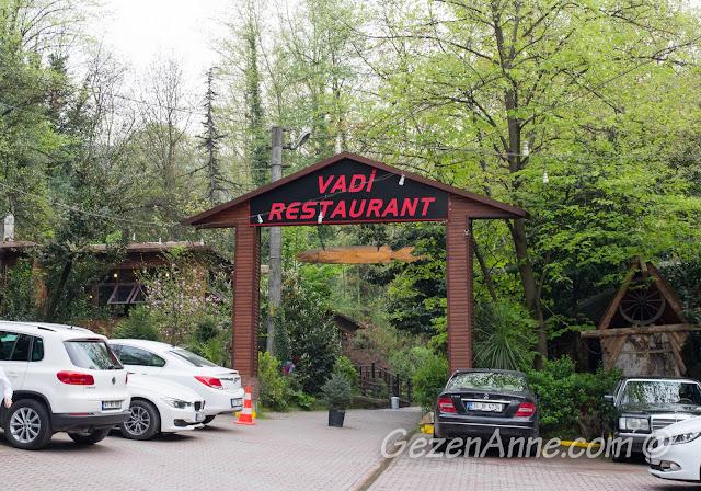 Vadi Restaurant girişi, Maşukiye