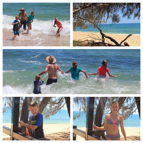 Teambray at Woodgate beach
