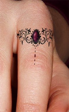 tattoos for ring finger