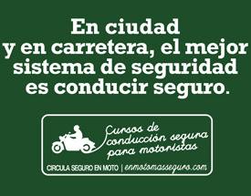 En ciudad y en carretera, el mejor sistema de seguridad es conducir seguro