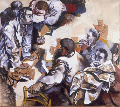 La discussione di renato Guttuso