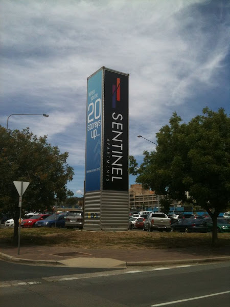 sentinel apartments advertising