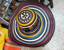 Sombrero Vueltiao 19 Vueltas Tricolor Ref. 2