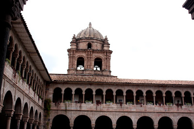 Iglesia de Santo Domingo in Cuzco Peru