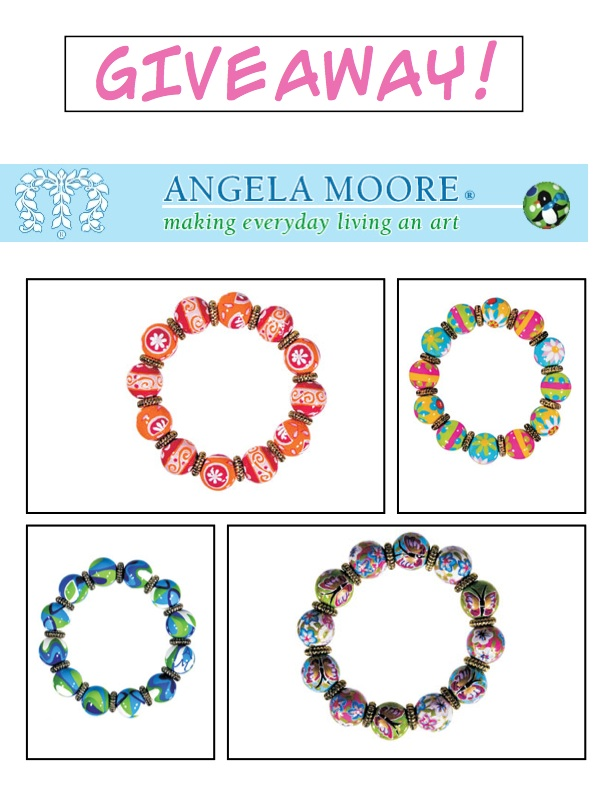 Come And Enter Our Fabulous Giveaway From Angela Moore You Have A Choice Of One These Bracelets