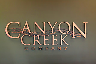 Canyon Creek - full face on
