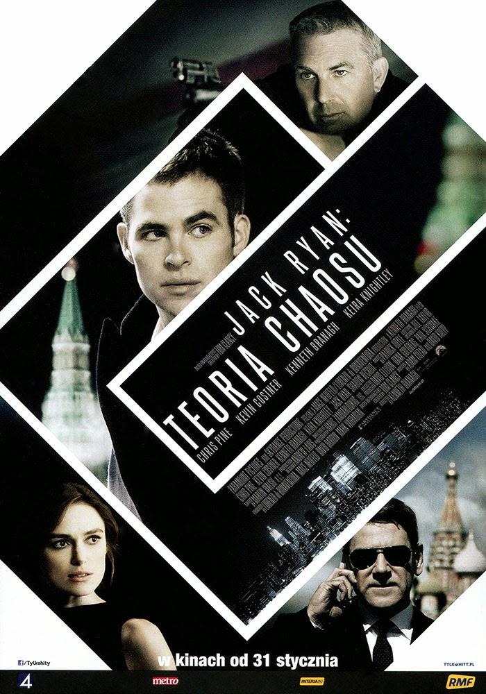 Ulotka filmu 'Jack Ryan: Teoria Chaosu (przód)'