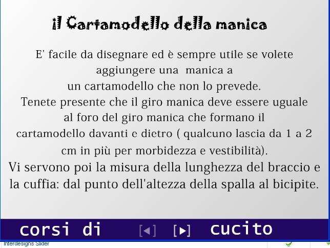 Metodo Manica Cartamodello Di Corsi Cucito Classico Hq74Pxq1yw