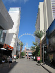 Arrival at the Linq