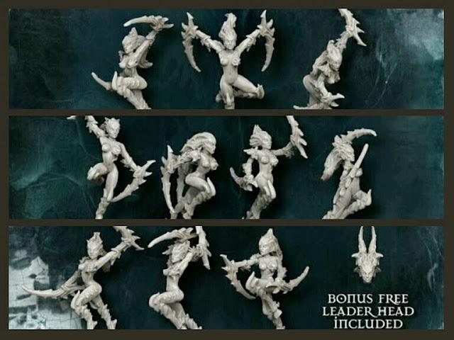 Raging guerreras Mantis