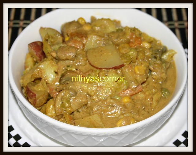 Mughal Mixed Vegetable Curry