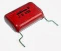 DIP polyester capacitor, πολυεστερικός πυκνωτής