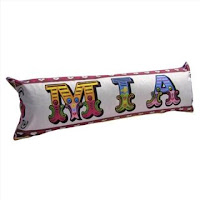 Circus Lettering sausage cushion