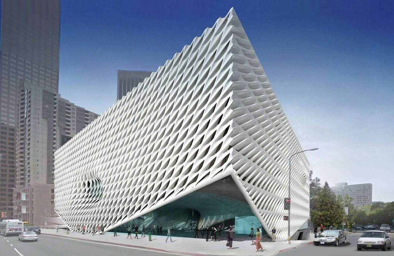 Los Angeles, California, Stati Uniti: The Broad by Diller Scofidio + Renfro