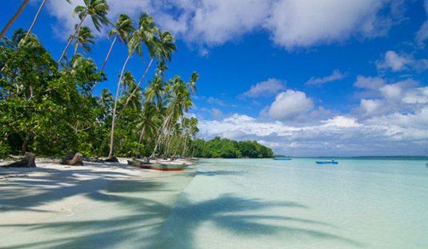 Pantai Ngurbloat Pulau Kei Kecil Maluku Tenggara