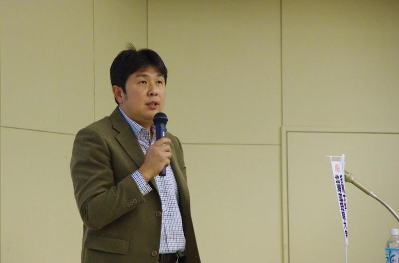 渡辺辰一氏(有)渡辺農場・代表取締役(三笠市)