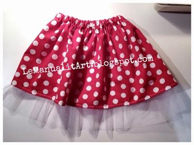 falda para niña express