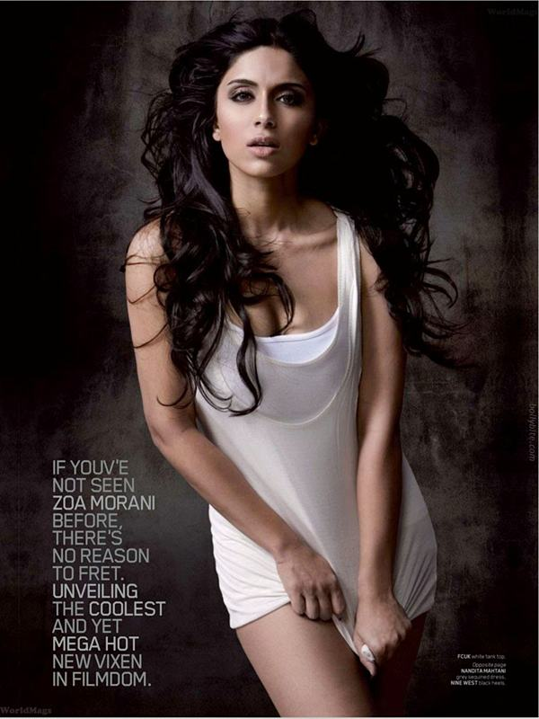 Hot Zoa Morani  Maxim Mag March  Scans hot photos