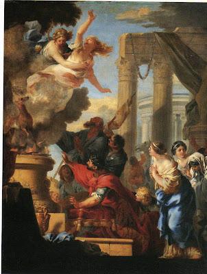 Sébastien Bourdon - The Sacrifice of Iphigeneia