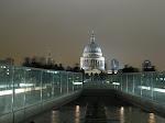 Londres: St Paul's Cathedral vue depuis le Tate