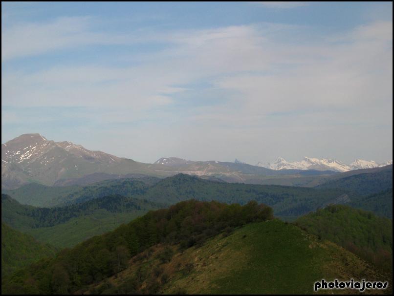 Ruta pico de Azalegui y ermita de San Esteban