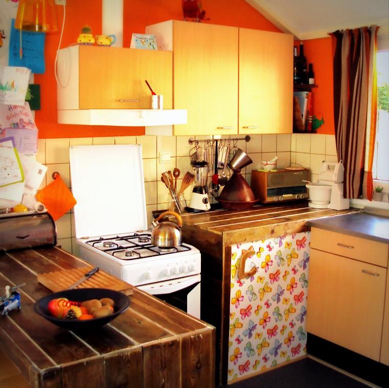 Keuken na verbouwing