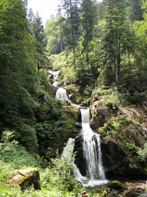 Triberg waterfalls in the Black Forest